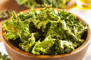 Kale Chips Stock